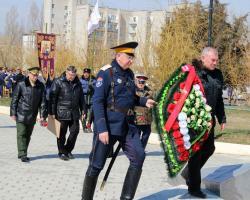 Астраханские казаки в Знаменске